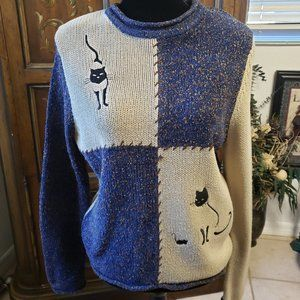 Hand Embroidered Sweater by Christopher & Banks